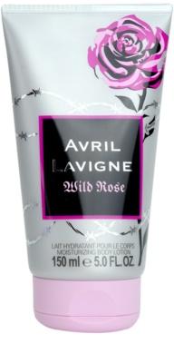 Avril Lavigne Wild Rose tělové mléko pro ženy