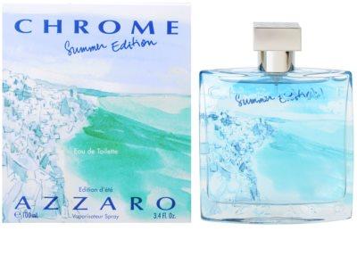 Azzaro Chrome Summer 2013 Eau de Toilette für Herren
