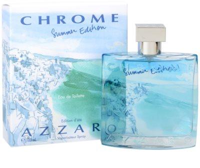Azzaro Chrome Summer 2013 Eau de Toilette für Herren 1