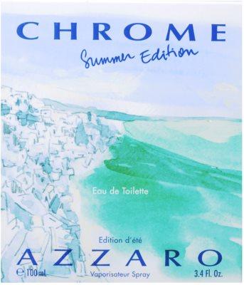 Azzaro Chrome Summer 2013 Eau de Toilette für Herren 4