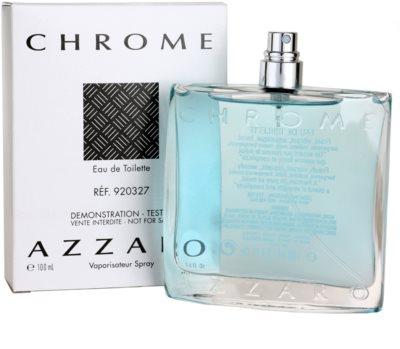 Azzaro Chrome eau de toilette teszter férfiaknak 1