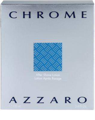 Azzaro Chrome after shave para homens 4