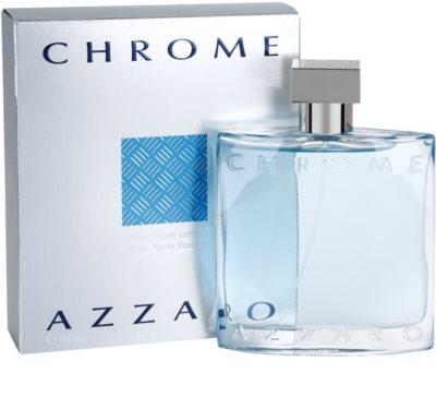 Azzaro Chrome after shave para homens 1