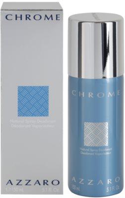 Azzaro Chrome deodorant Spray para homens