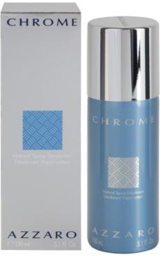 Azzaro Chrome дезодорант-спрей для чоловіків