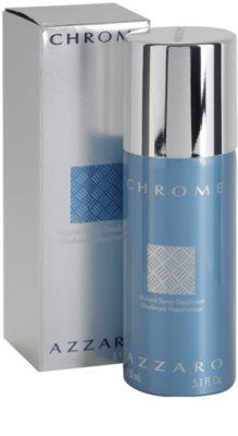 Azzaro Chrome дезодорант-спрей для чоловіків 1