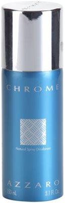 Azzaro Chrome deodorant Spray para homens  (sem caixa)