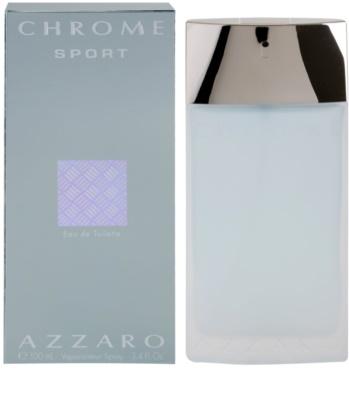 Azzaro Chrome Sport Eau de Toilette for Men