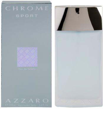 Azzaro Chrome Sport Eau de Toilette für Herren