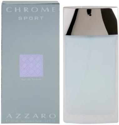 Azzaro Chrome Sport Eau de Toilette pentru barbati