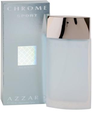 Azzaro Chrome Sport Eau de Toilette für Herren 1