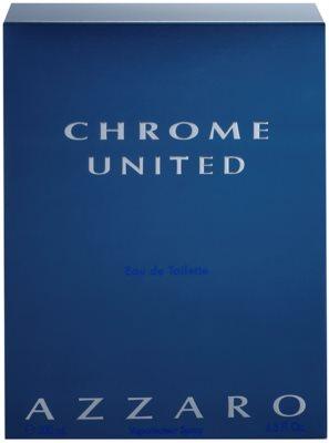 Azzaro Chrome United eau de toilette férfiaknak 1
