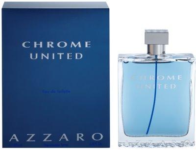 Azzaro Chrome United eau de toilette férfiaknak