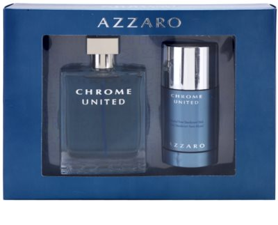 Azzaro Chrome United coffret presente