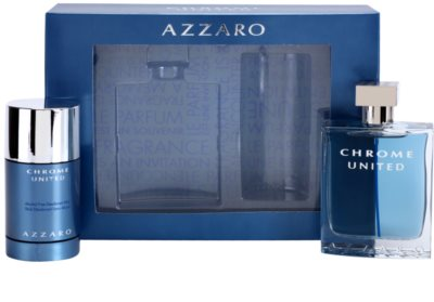 Azzaro Chrome United coffret presente 2
