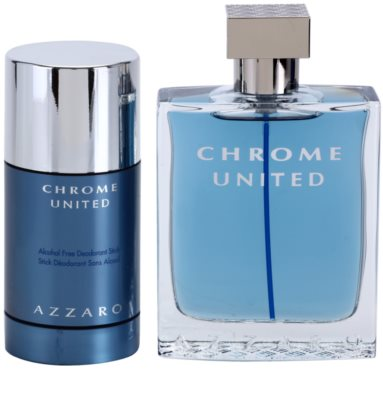 Azzaro Chrome United coffret presente 1