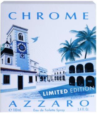 Azzaro Chrome Limited Edition 2014 Eau de Toilette pentru barbati 4