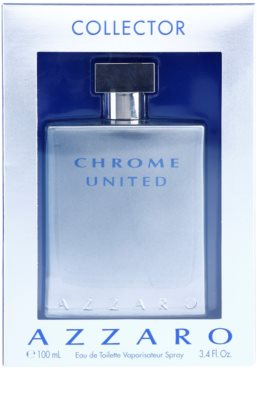 Azzaro Chrome United Collector Edition Eau de Toilette pentru barbati