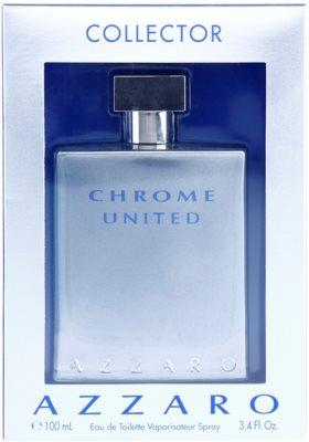 Azzaro Chrome United Collector Edition тоалетна вода за мъже