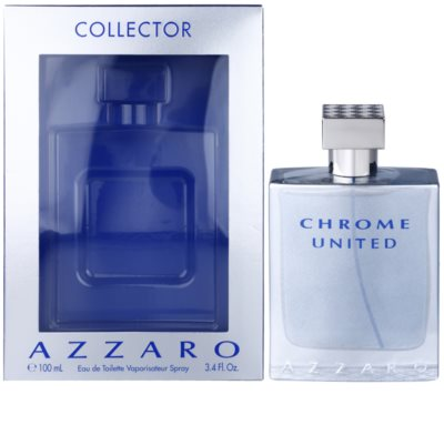 Azzaro Chrome United Collector Edition Eau de Toilette pentru barbati 1