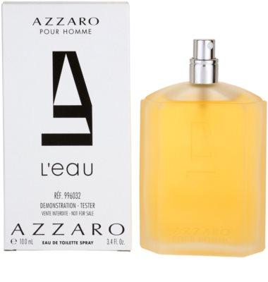 Azzaro Azzaro Pour Homme L´Eau toaletní voda tester pro muže 2