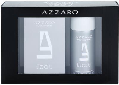 Azzaro Azzaro Pour Homme L´Eau coffret presente