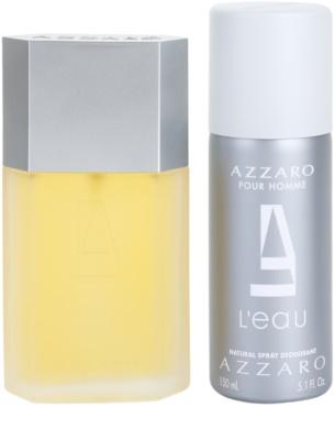 Azzaro Azzaro Pour Homme L´Eau coffret presente 1