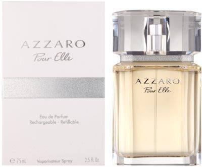 Azzaro Pour Elle eau de parfum nőknek  utántölthető