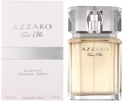 Azzaro Pour Elle eau de parfum para mujer  recargable