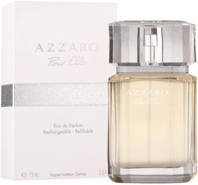 Azzaro Pour Elle eau de parfum para mujer  recargable 2