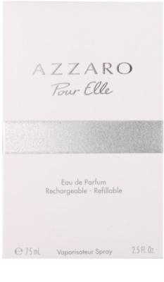 Azzaro Pour Elle eau de parfum para mujer  recargable 1