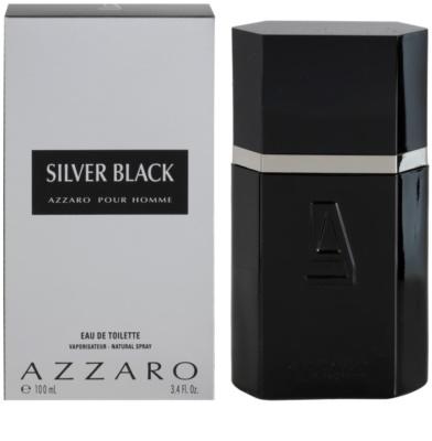 Azzaro Silver Black eau de toilette férfiaknak