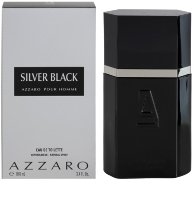 Azzaro Silver Black Eau de Toilette para homens