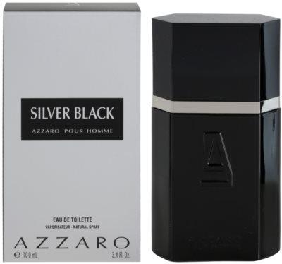 Azzaro Silver Black toaletní voda pro muže