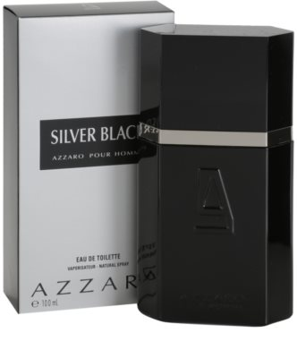 Azzaro Silver Black Eau de Toilette para homens 1