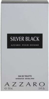 Azzaro Silver Black Eau de Toilette para homens 4