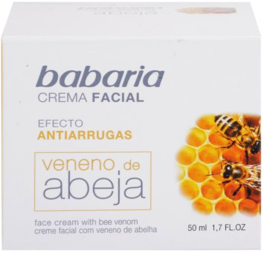 Babaria Abeja crema facial con veneno de abejas 2