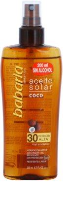 Babaria Sun Aceite Solar napolaj SPF 30