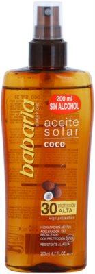 Babaria Sun Aceite Solar Sonnenöl SPF 30