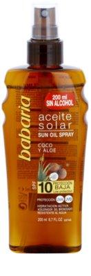Babaria Sun Aceite Solar олио за загар SPF 10