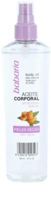 Babaria Almendras aceite corporal en spray  para pieles secas