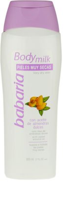 Babaria Almendras Körpermilch für trockene Haut