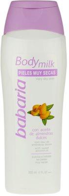 Babaria Almendras lotiune de corp pentru piele uscata
