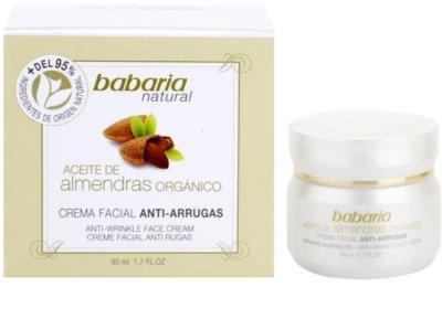 Babaria Almendras crema facial con aceite de almendras 2