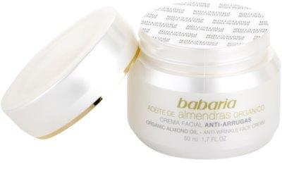 Babaria Almendras crema facial con aceite de almendras 1