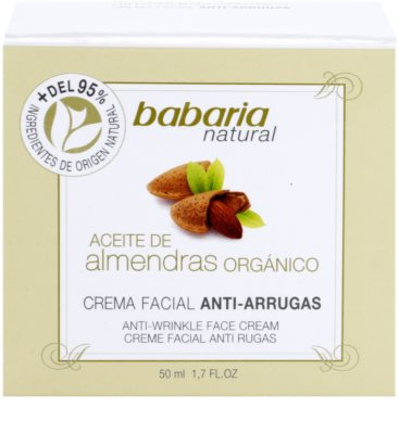 Babaria Almendras crema facial con aceite de almendras 4