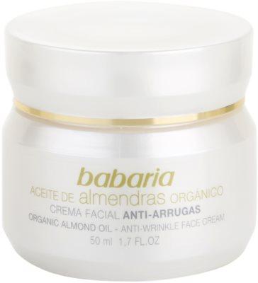 Babaria Almendras crema facial con aceite de almendras