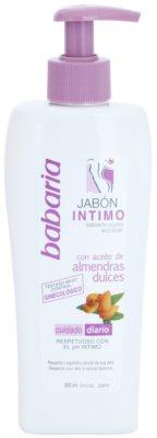 Babaria Almendras jabón para la higiene íntima
