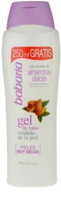 Babaria Almendras gel za prhanje za suho kožo