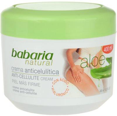 Babaria Aloe Vera tělový krém proti celulitidě